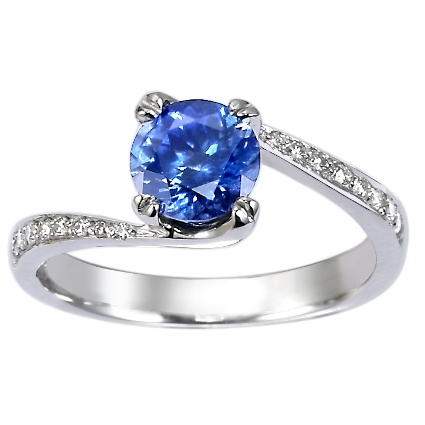 The Valuable of Blue Sapphire Engagement Rings - Women always have a great passion about the wedding ring with The Valuable of Blue Sapphire Engagement Rings