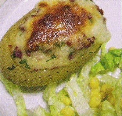 Cocinar es amar patatas rellenas de verdura for Cocinar patatas rellenas