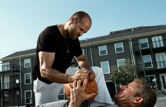 the expendables basketball clip 30 7 10 kc - Jason Statham