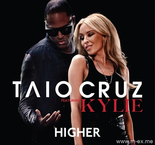 higher taio cruz and kylie minogue. higher taio cruz ft kylie