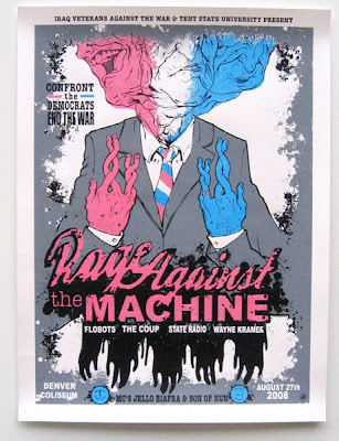rage against the machine dnc