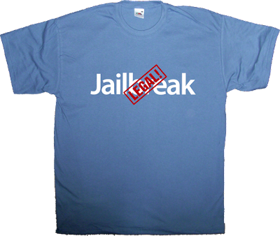 jailbreak unlock iphone ipad apple dmca t-shirt ephemeral-t-shirts