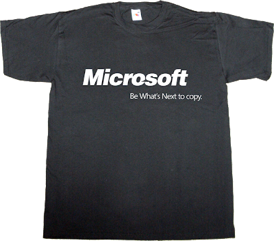 microsoft, obsolete new campaign t-shirt ephemeral-t-shirts