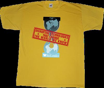 disruptive DTTCTWWK wikileaks t-shirt ephemeral-t-shirts
