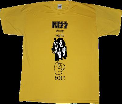 kiss rock army t-shirt ephemeral-t-shirts