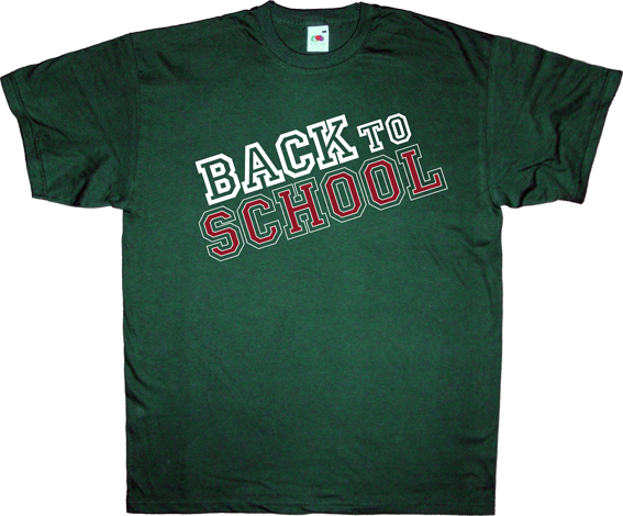 Ephemeral T Shirts Back To School