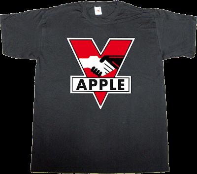steve jobs apple big brother george orwell 1984 movie jailbreak iphone ipad t-shirt ephemeral-t-shirts