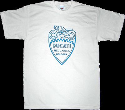 ducati Motorcycle Bikes vintage t-shirt ephemeral-t-shirts