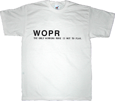 wopr wargames movie t-shirt ephemeral-t-shirts