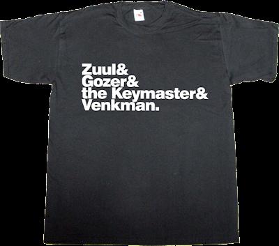 ghostbusters movie helvetica t-shirt ephemeral-t-shirts