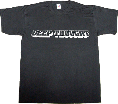 The Hitchhiker's Guide to the Galaxy Deep Thought movie t-shirt ephemeral-t-shirts