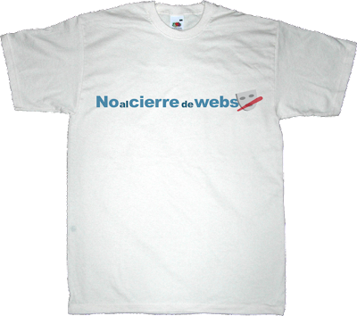 ley sinde derechos fundamentales t-shirt ephemeral-t-shirts