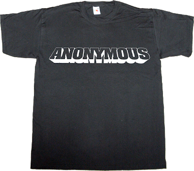 Anonymous activism ley sinde internet 2.0 derechos fundamentales t-shirt ephemeral-t-shirt