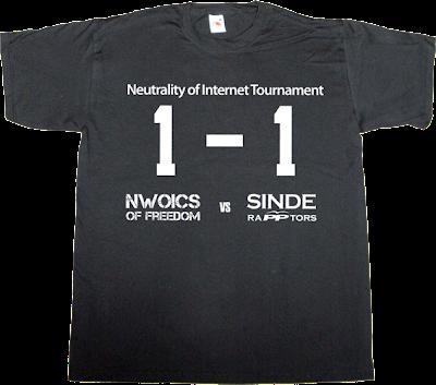 activism derechos fundamentales internet 2.0 Ley de Economía Sostenible ley sinde network neutrality useless Politics t-shirt ephemeral-t-shirts