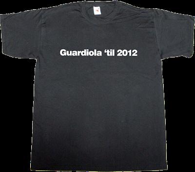fc Barcelona Pep Guardiola helvetica t-shirt ephemeral-t-shirts