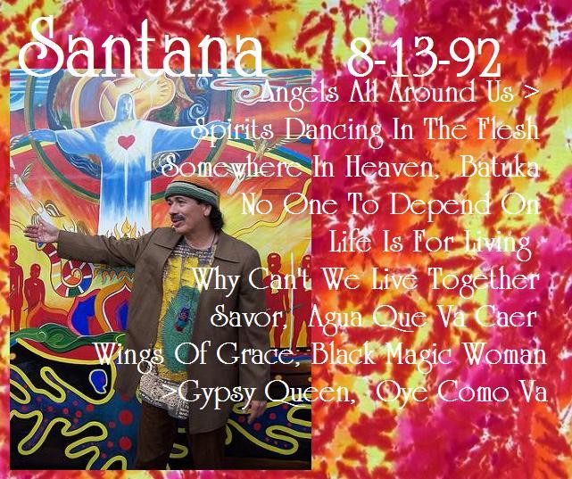 Arizona Jone... Santana Spirits Dancing In The Flesh