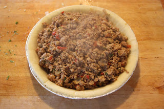 Meat pie filling