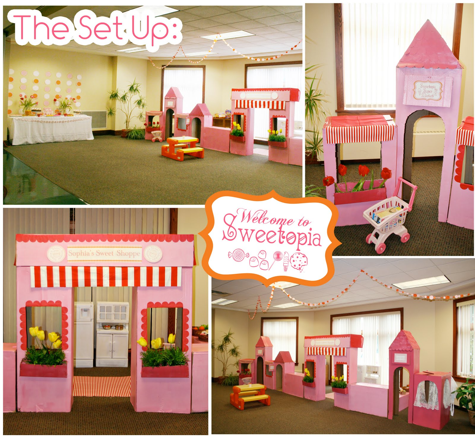 My Sophia's Sweet Shoppe Birthday Party