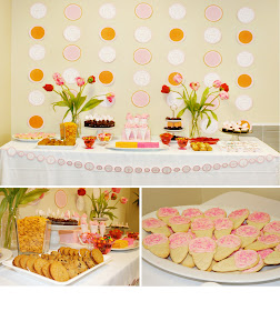 Budget Friendly Sweet Shoppe Dessert Table