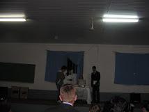 Teatro do Anahy na noite cultural.