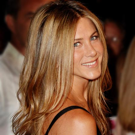 Jennifer Aniston Hair Color Download Foto Gambar