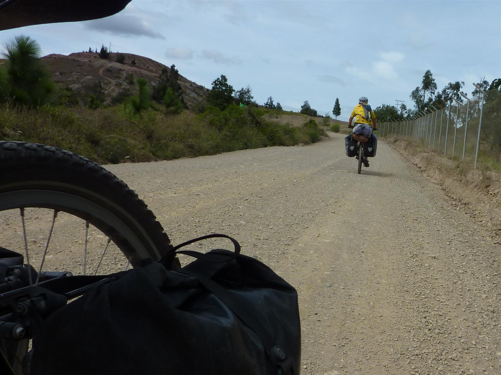cycle touring the americas a cheesy finish