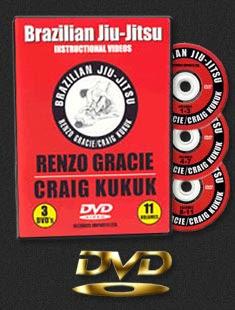 Renzo Gracie & Craig Kukuk - Jiu Jitsu 3 DVD Set