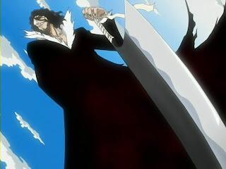 bleach zanpakutou zangetsu kurosaki ichigo sword replica cleaver shikai awaken zangetsu