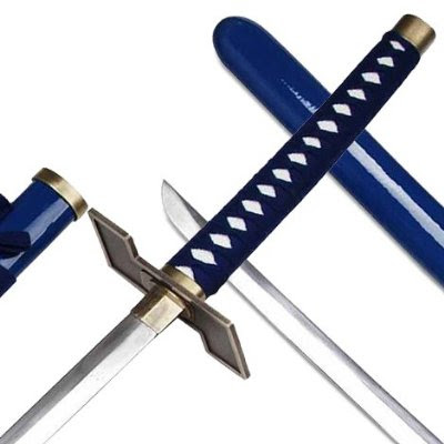 espada number six grimmjow pantera sword replica zanpakutou 247swords hilt