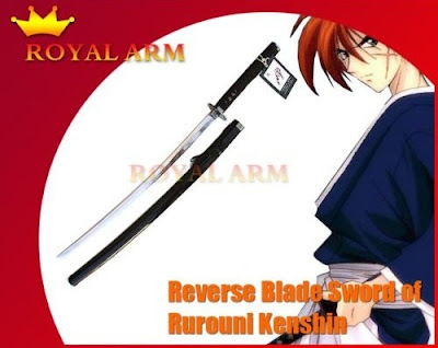 Rurouni Kenshin Reverse Blade Sword Replica Sakabato RoyalArm