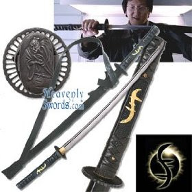 Heroes Takezo Kensei Sword Replica Heavenly swords