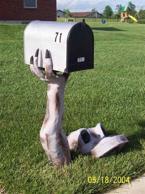 Mail Box with Unique Shape