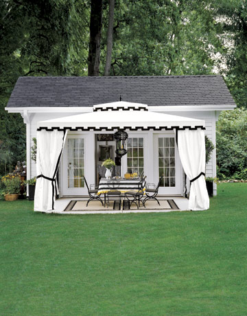 Pure style home fun sheds for Backyard guest room