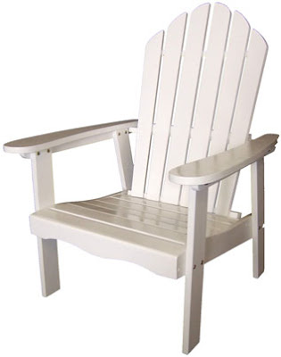 of adirondack chairs.