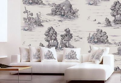 Grisaille Murals Wallpapers Lauren Liess