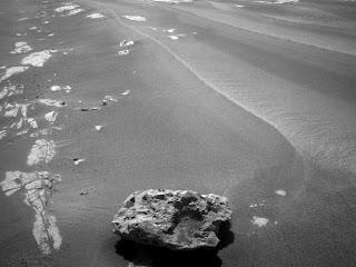 Meteorito en Marte