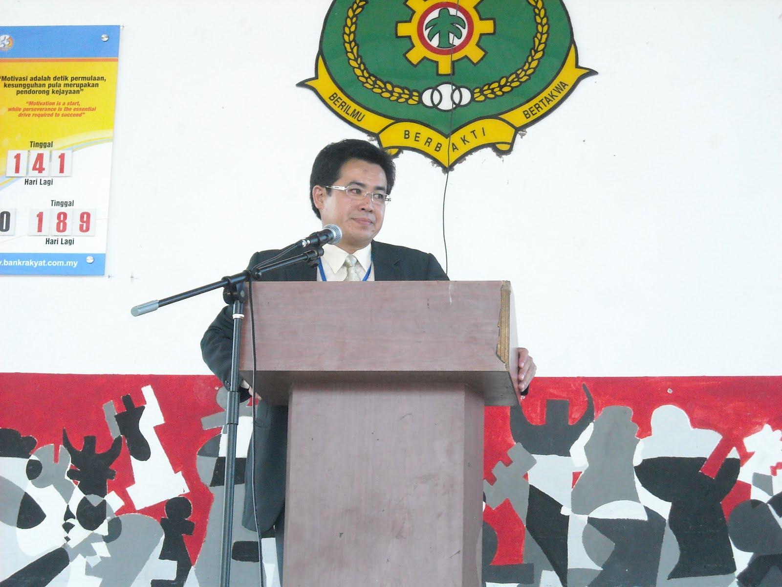 Ucapan dan Bacaan Perutusan Menteri Pelajaran, KPM dan Pengarah
