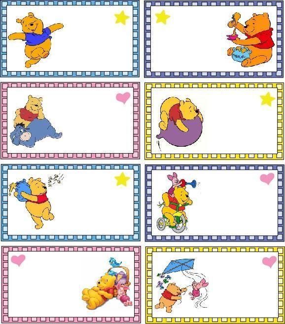 Separadores Pooh ♥