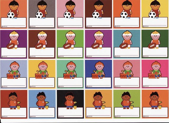 Distintivos para niños y niñas de preescolar - Imagui