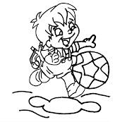 Dibujos de niños ♥ (menina )