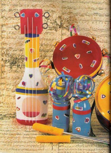 Instrumentos Con Material De Reciclaje