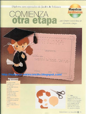 Diploma Para Egresados de Jardín de Infantes♥