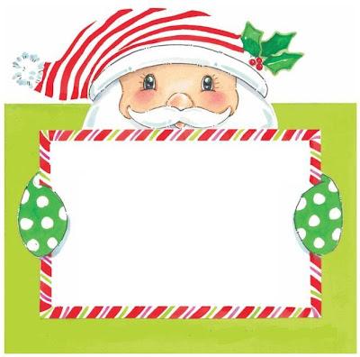 Tarjetitas de Navidad listas para imprimir y colocarlas en tus