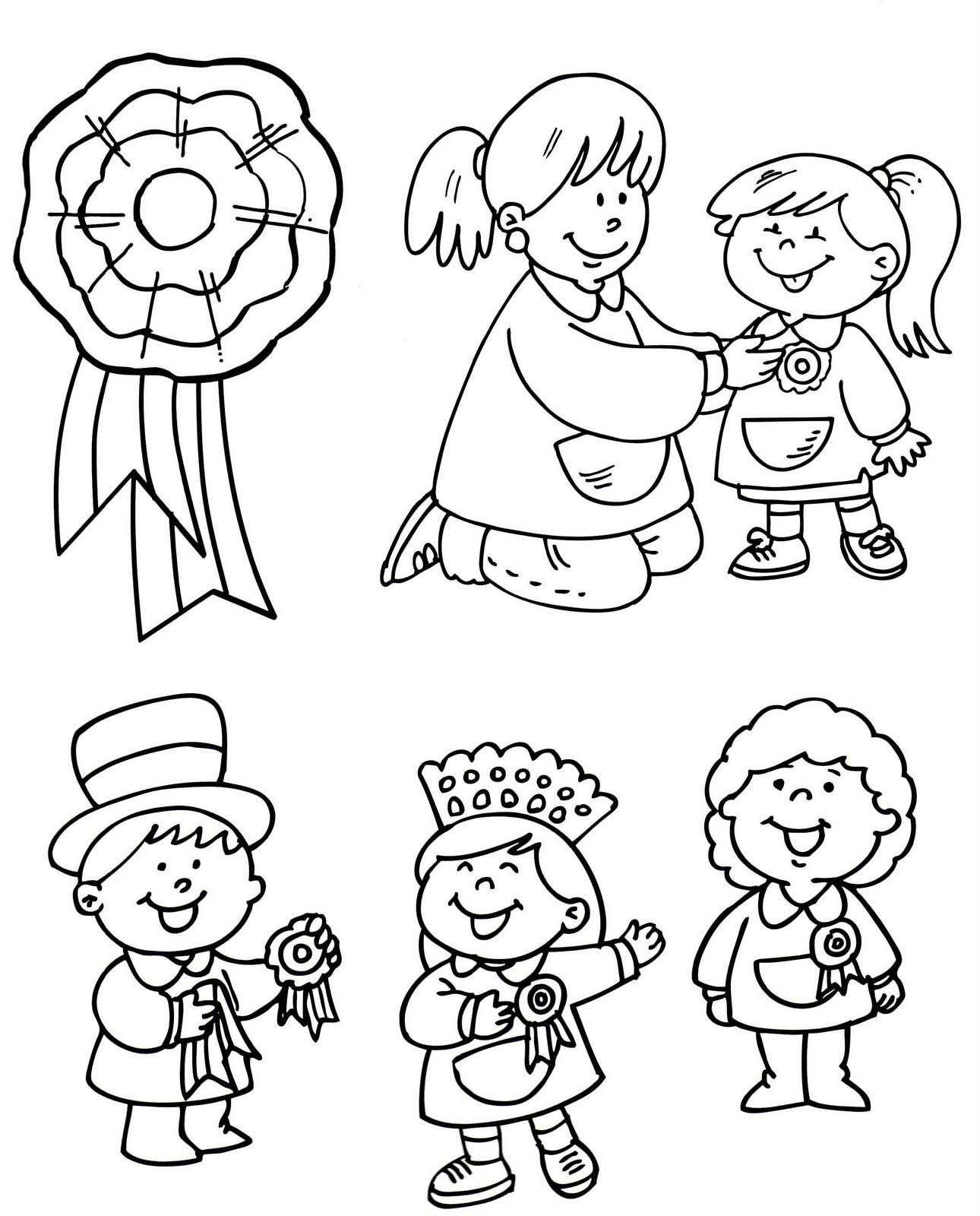 ... de la infancia: ? Día de la escarapela(Dibujos para pintar