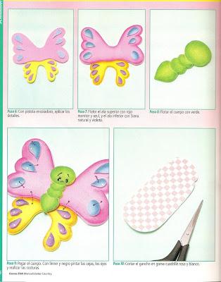 Un lindo separador para tus libro (Mariposa )♥