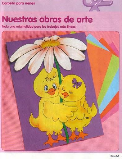 El rincon de la infancia: ♥ Carpeta para nenes (Nuestras obras de
