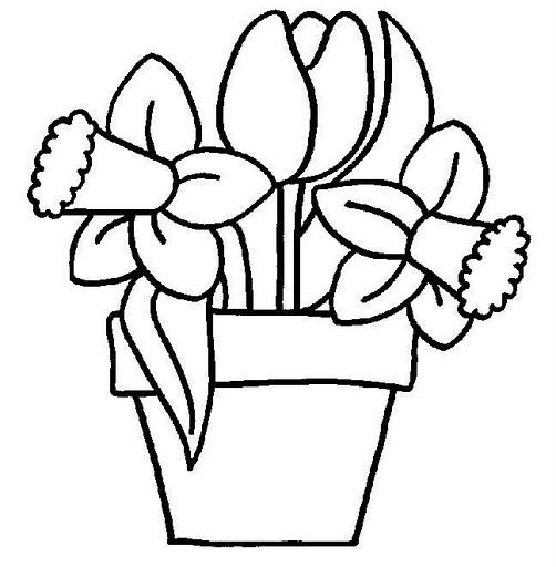Flores para Colorear - quierodibujos.com