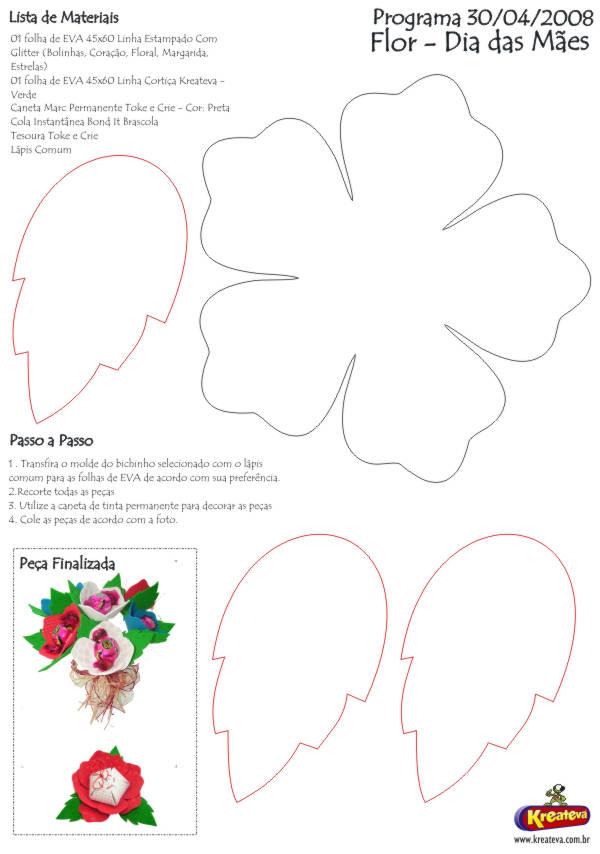 Ver Fotos De Flores De Eva - como hacer flores de goma eva Aprender manualidades