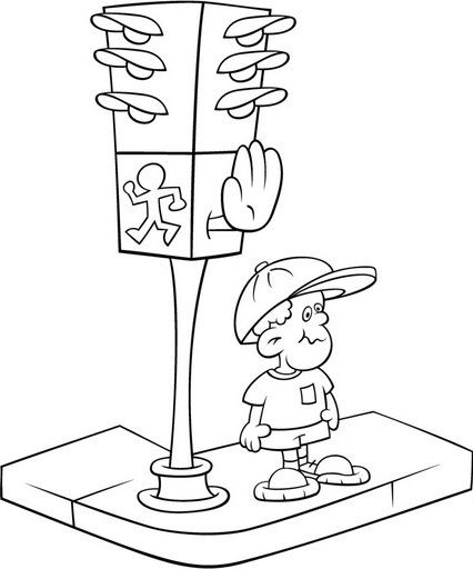 El rincon de la infancia: ♥ Dibujos de educación vial ♥
