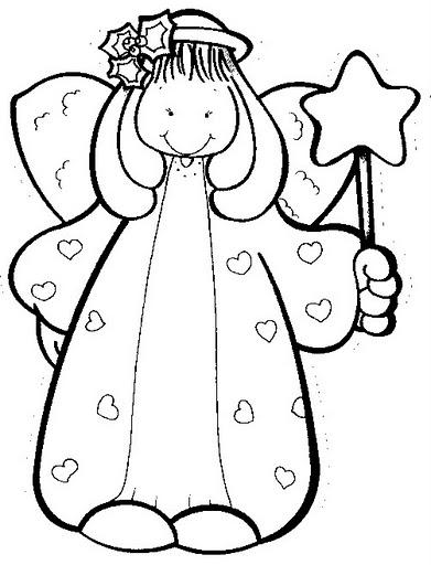 El rincon de la infancia: ♥ Dibujos de navidad para pintar ♥